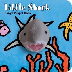 Chronicle Books Little Shark Finger Puppet Boo