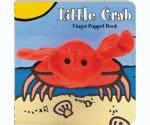 Chronicle Books Little Crab Finger Puppet Board Book