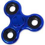 Shiny Blue Metallic Color Fidget Spinner, EDC Bearing