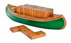 Outside-Inside Canoe Dominoes