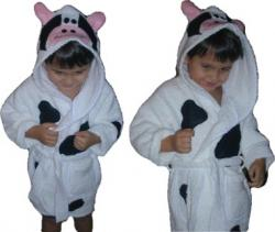 Cow Bath Robe