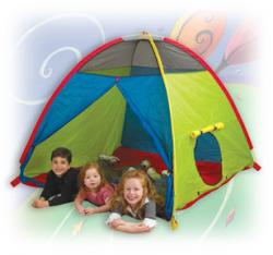 Pacific Play Tents Super Duper 4-Kid Play Tent