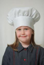 Dress Up America White Chef Hat