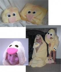 Duck Critter Hooded Towel
