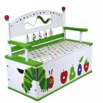 Levels of Discovery The Very Hungry Caterpillar Bench Seat w/ Storage