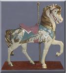 Royal Stander Pastel Carousel Horse