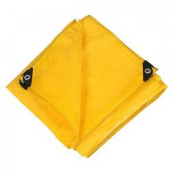Pacific Play Tents Messy Mat 8x10, Yellow