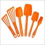Rachael Ray Nylon Tools 6-Piece Utensil Set, Orange