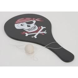 The Original Toy Company Pirate Paddle Ball