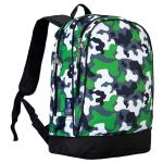 Olive Kids Green Camo Sidekick Backpack