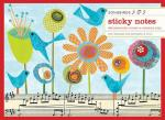 Chronicle Books Songbirds Sticky Note Set