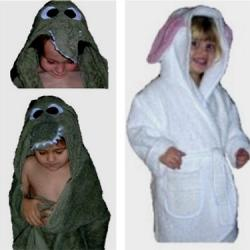 Crocodile Bath Robe