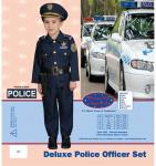 Dress Up America Deluxe Police Officer Set - Small 4-6