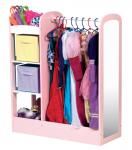 Guidecraft See And Store Child Dress Up Center - Pastel