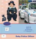 Dress Up America Baby Police Officer - 12-24m