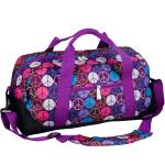 Olive Kids Peace Signs Duffel Bag