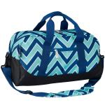 Olive Kids Zigzag Lucite Overnighter Duffel Bag