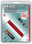 MagLite - Solitaire Flashlight Red Hanging Pack