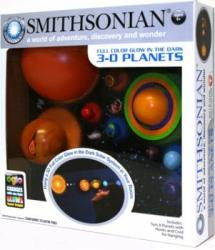 Smithsonian 3-D Glowing Solar System