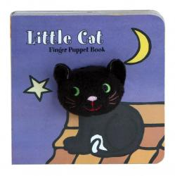 Chronicle Books Little Black Cat Finger Puppet Book
