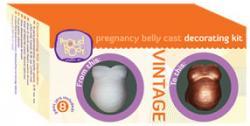 Vintage Pregnancy Belly Cast Decorating Kit