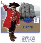 Dress Up America Pirate Captain - Toddler T4