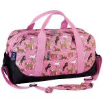 Olive Kids Horses in Pink Duffel Bag