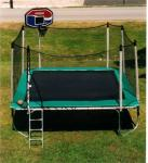 15 x 15 Square Trampoline with Enclosure