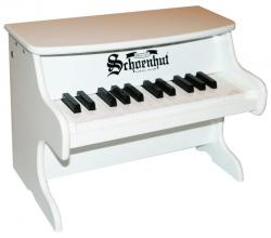 Schoenhut 25 Key Table Top My First Piano II, White