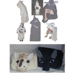 Horse Critter Hooded Towel