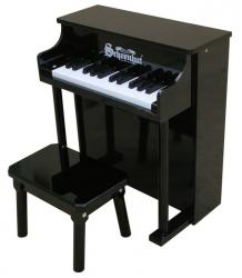 Schoenhut Traditional Spinet w/Bench Black 25-Key