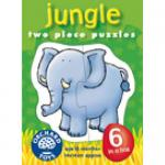 Jungle Baby Six - Two piece puzzles