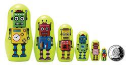The Original Toy Company Robot Micro Nesting Dolls