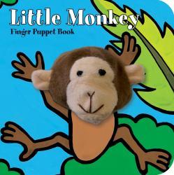 Chronicle Books Little Monkey Finger Puppet Book