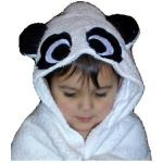 Panda Bear Bath Robe